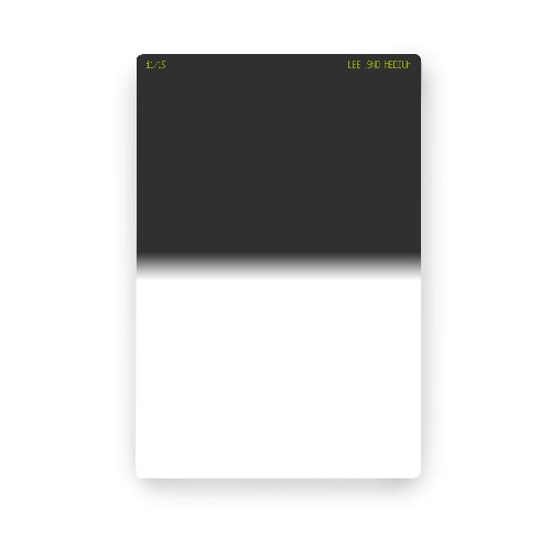 [LEE] 100 x 150mm Medium Graduated Neutral Density 0.9 Filter (ND 8)