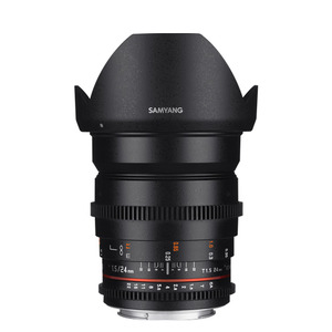 SAMYANG Cine 24mm T1.5 VDSLR ED AS IF UMC (II)