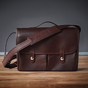 [Oberwerth] München Cow hide Dark brown
