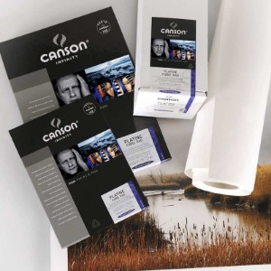 [CANSON®] INFINITY Platine Fibre Rag - 310g A4, A3, A3+
