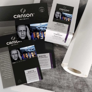 [CANSON®] INFINITY Baryta Photographique - 310g Roll [10만원 이상 구매시, 캔손® 인피니티 디스커버리팩 증정!]